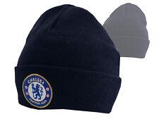Chelsea London Beanie CFC Mütze Blues Fanartikel Strickmuetze Erwachsene Kinder