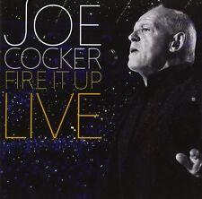 JOE COCKER - FIRE IT UP-LIVE 2 CD  21 TRACKS INTERNATIONAL POP   NEU
