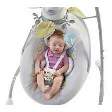 Infant Swing Overhead Mobile Plush Toy Cradle Baby Seat Portable Child Snuggle