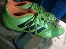 Addidas Fg Mens Soccer Cleats Green Sz 8.5 Immaculate worn only 2x