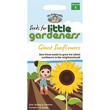 Mr Fothergills 75PC LITTLE GARDENERS GIANT SUNFLOWERS SEEDS Easy To Grow