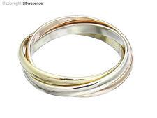 "Cartier Ring ""Trinity Schmal"" Ringgröße 49 750er Gold Tricolor Zertifikat"