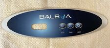 Balboa Water Group 3 Button Vl200 Mini Oval Overlay Panel Only Part #11219