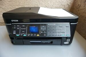 Epson WorkForce 635 All-In-One Inkjet Printer Print Tested Works Excellent