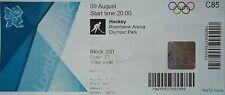 Eintrittskarte Olympia 9.8.2012 Men's Hockey HF Großbritannien - Niederlande C85