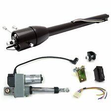 """32"""" Paintable Steering Column Floor Shift Power Tilt muscle cars hot rods"""