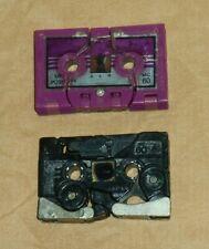 original G1 Transformers cassette RAVAGE + RATBAT LOT (rough condition)