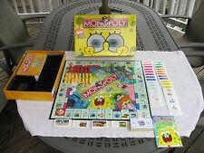 Monopoly Nick Spongebob Squarepants Edition 2005 Parker Brothers Complete!