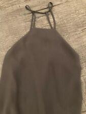 Tobi Olive Green Halter Dress Size M