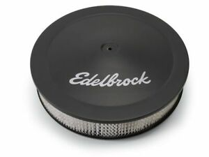 Edelbrock Air Cleaner Assembly fits Chevy Biscayne 1961-1972 96DFQD