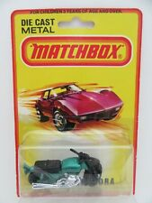 Matchbox Superfast 18b Hondarora Motorbike - Metallic Green w/Chrome Engine