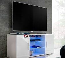 Living Room High Gloss Furniture Display tv Unit Modern TV Cabinet Light3 120 cm