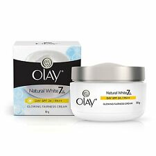 Olay Natural White 7 in 1 Glowing Fairness Day Skin Cream SPF 24 - 50g