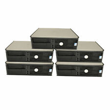 Lot of 5 Dell Optiplex 380 Computer 2.93Ghz  DVD-RW/CD-RW NO Ram ,No Hard Drive