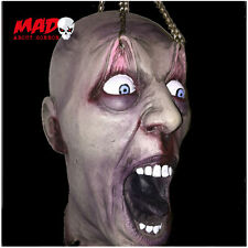 SCARY! Severed Zombie Hanging Head - Halloween Decorations/Prop Horror CREEPY!