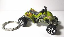 2003 Hot Wheels 4 Wheeler ATV Sand Stinger Custom Key Chain Ring! Hot Wheels.