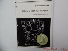 Caterpillar 3306 3304 Series Diesel Engine Generator Catalog Vintage ORIGNL