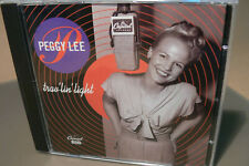 "peggy lee trav""lin light cd album"