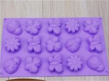 Butterfly Insect 3D Brick Mold Silicone Tray Chocolate Ice Cube Jelly Fun Mould