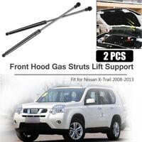 Front Hood Lift Support Struts Shocks Gas Springs Damper For Nissan X-Trail T31