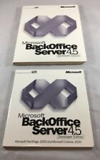 MICROSOFT Back Office Developer Edition Server 4.5 CD Set *Fast Ship* *G35*