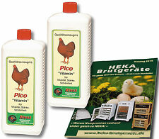 2x 1.000ml Klaus Picovit Pico-Vitamin für Hühner --- @@@HEKA: 2x Art. 23011