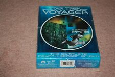 Star Trek: Voyager - The Complete Fourth Season (DVD, 2004, 7-Disc Set) *New*