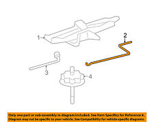 TOYOTA OEM 11-17 Corolla Jack-Rear Body & Floor-Handle 0911301010