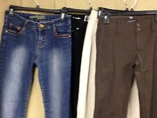 lot of 4 WOMENS JUNIORS JEANS PANTS SO SOUTHPOLE A TAYLOR BANANA WAIST 30 #