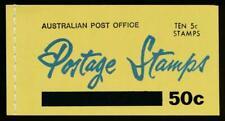 Australia Sg. Sb40 50c Booklet, Mint Nh, Revised-2 Panes