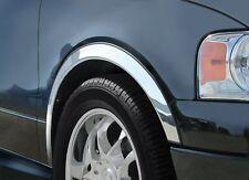 LEXUS RX 300 350 400h Radlauf Zierleisten Bj.03-09 Set Vorne Hinten 4St. - CHROM
