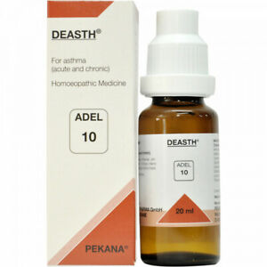 Adel Pekana Adel 10 (Deasth) 20ml For Asthma, Spasmodic Cough,& Breathlessness.