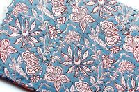 B547 Blue Floral Quilting Cotton By 1//2 Yd Paintbrush//Moonlit Sonata//120-267