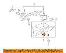 Chevrolet GM OEM 05-13 Corvette Glove Compartment Box-Handle Latch 15924033
