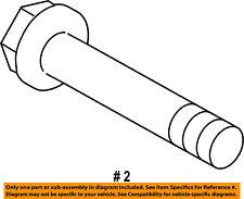 FORD OEM 11-16 Fiesta Rear Suspension-Shock Assembly Lower Bolt W713343S442