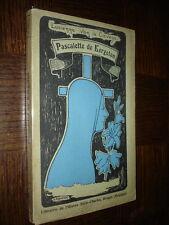 PASCALETTE DE KERGOLAN - Lucienne van de Caveye 1926