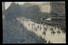 18-MILITARY WWI-FRANCE -PARIS- l'Opéra, La Cavalerie Marocaine, Real Photo(RPPC)