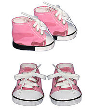 """Colored Sneakers Teddy Bear Clothes Fits Most 14""""- 18"""" Build-A-Bear and More"""