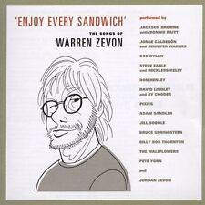 Enjoy Every Sandwich: The Songs of Warren Zevon by Various Artists (CD, Oct-2004, Artemis Records)