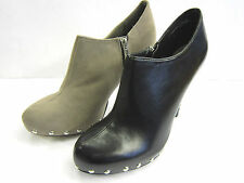 Slim Heel Ankle Boots Synthetic Shoes for Women