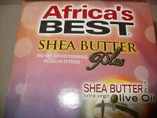 Africa's Best Shea Butter Plus No Lye Relaxer-NIB Value Pack