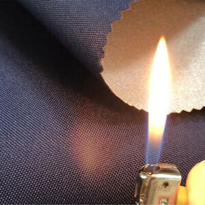 600D Flame Retardant Fabric Fire Proof Waterproof Silver Coated Oxford Cloth