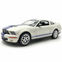 2007 Ford Shelby Cobra GT500 1:24 Model Car Diecast Toy Collection Gift White