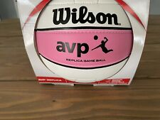 Wilson Sporting Official Women's AVP Series Replica Game Volleyball Pink