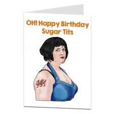 Funny Birthday Card For Her Women Female Best Friend Wife Girlfriend