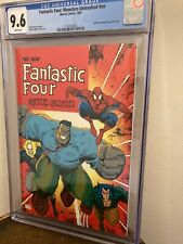 1992 Marvel Comics Fantastic Four Monsters Unleashed CGC 9.6 Spiderman Hulk