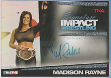 Madison Rayne 2011 Tristar TNA Signature Impact autograph auto card S36 /99