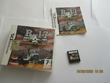 B-17 FORTRESS IN THE SKY NINTENDO DS PAL MULTI ITA COMPLETE CIB 2DS 3DS 2 3