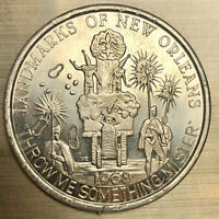 "1968 Krewe of Freret ""Landmarks of New Orleans""  Mardi Gras Doubloon"