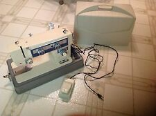 Vintage Stradivaro Sewing Machine With Original Case